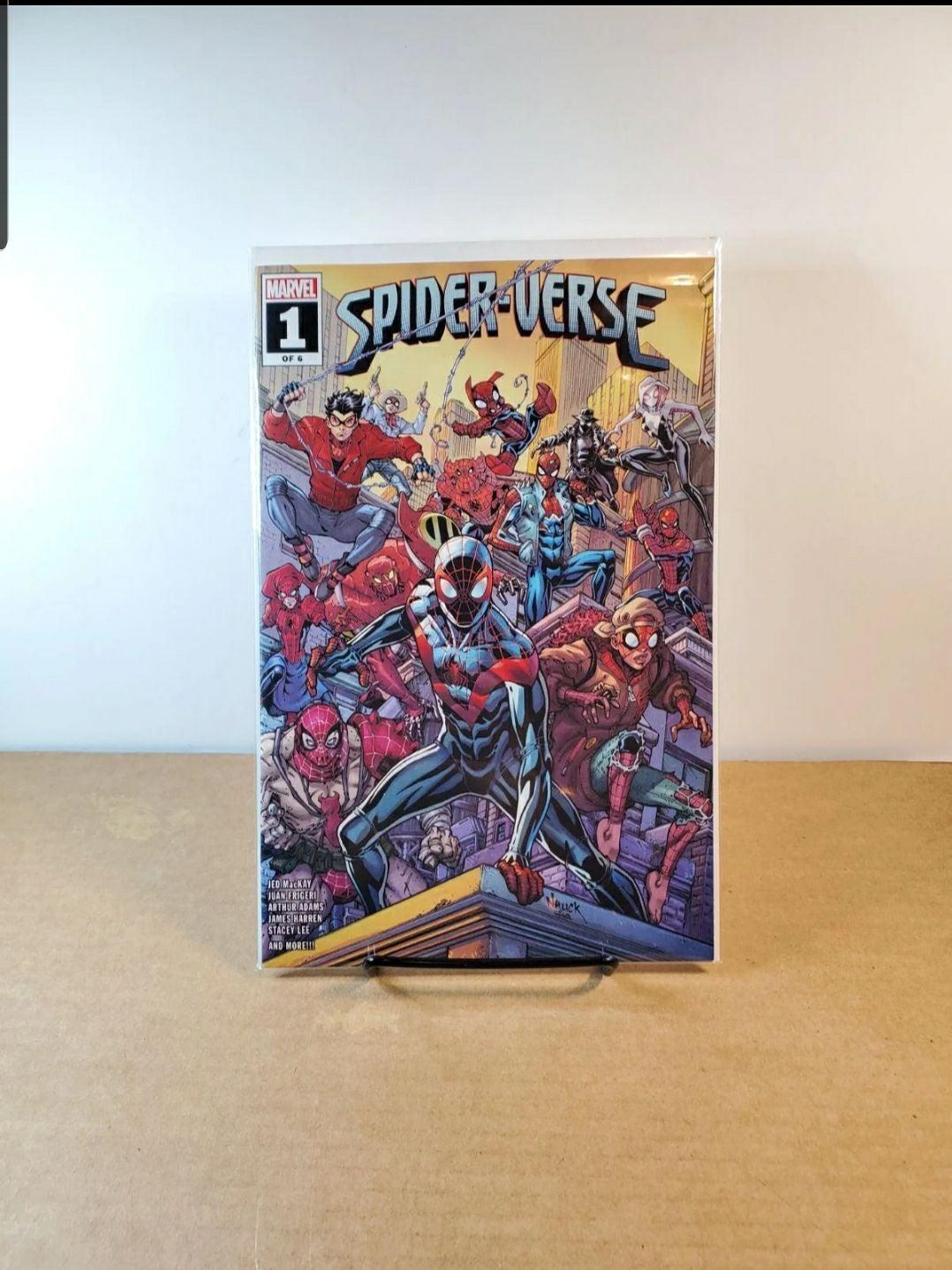 Spider-Verse #1 Walmart Excl. 1st print