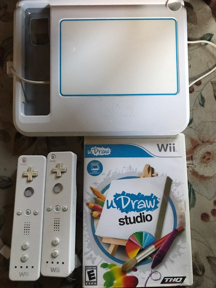 Wii uDraw Game Tablet Studio Controllers
