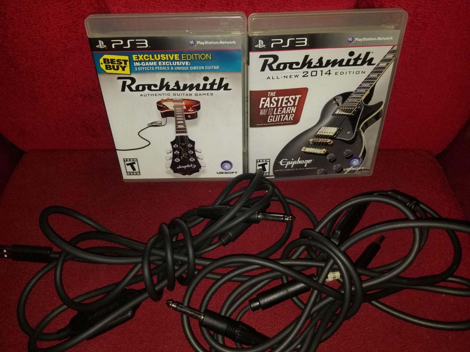 Rocksmith PS3 Games & Cables Bundle