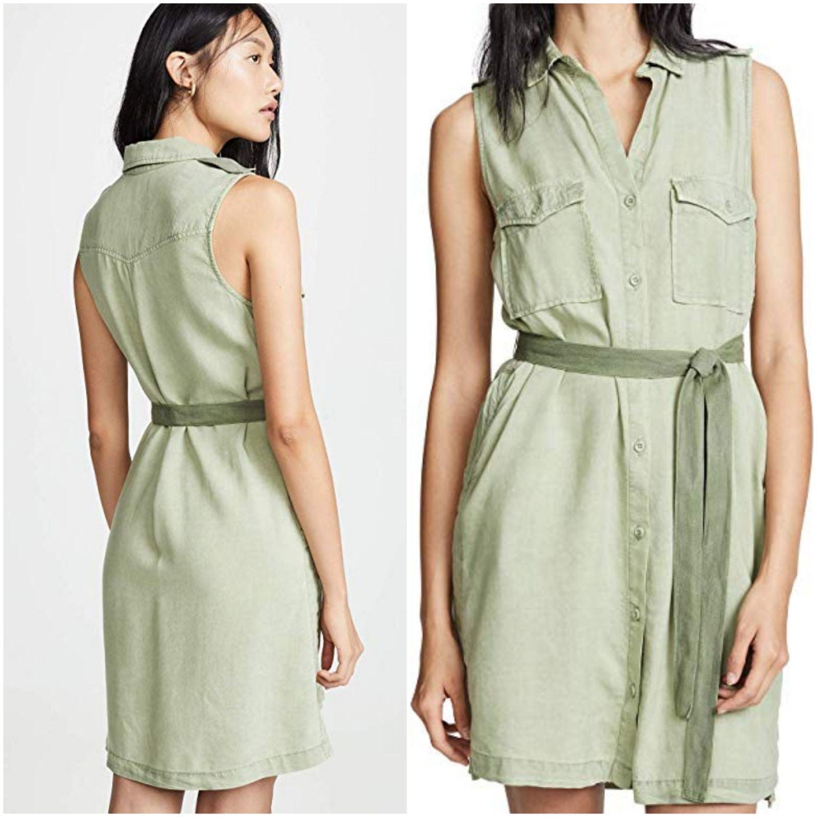 NWT Bella dahl patch pocket shirt dress