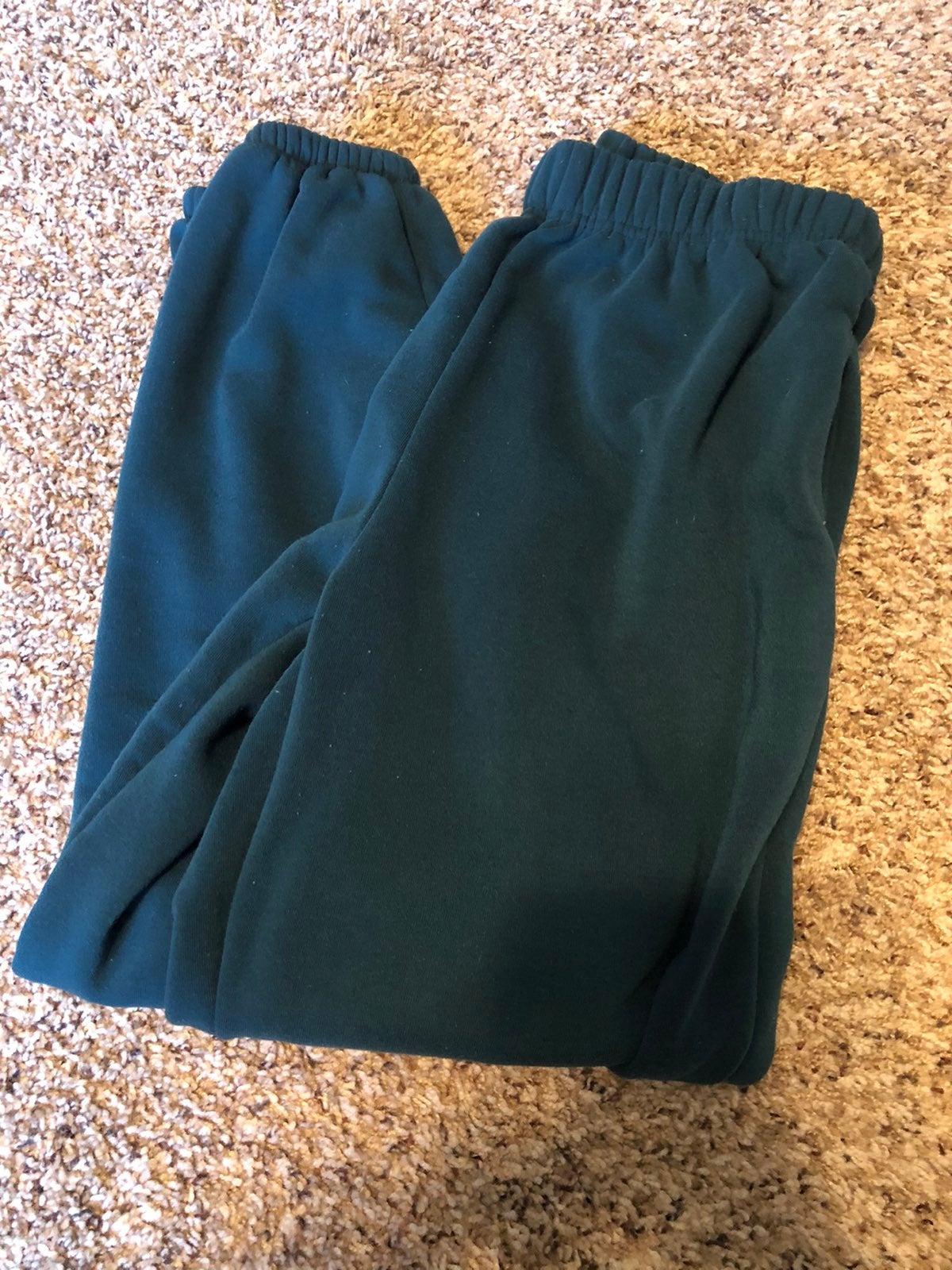Women's Green Sweatpants