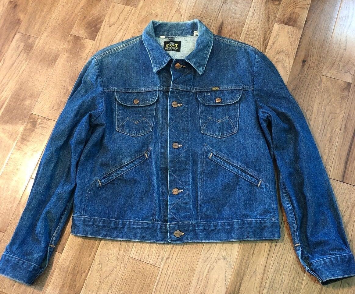 Vintage Men's Maverick Jean Jacket M