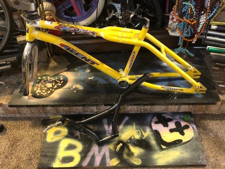 """1999 Kent Chaos 20"""" BMX Frameset"""