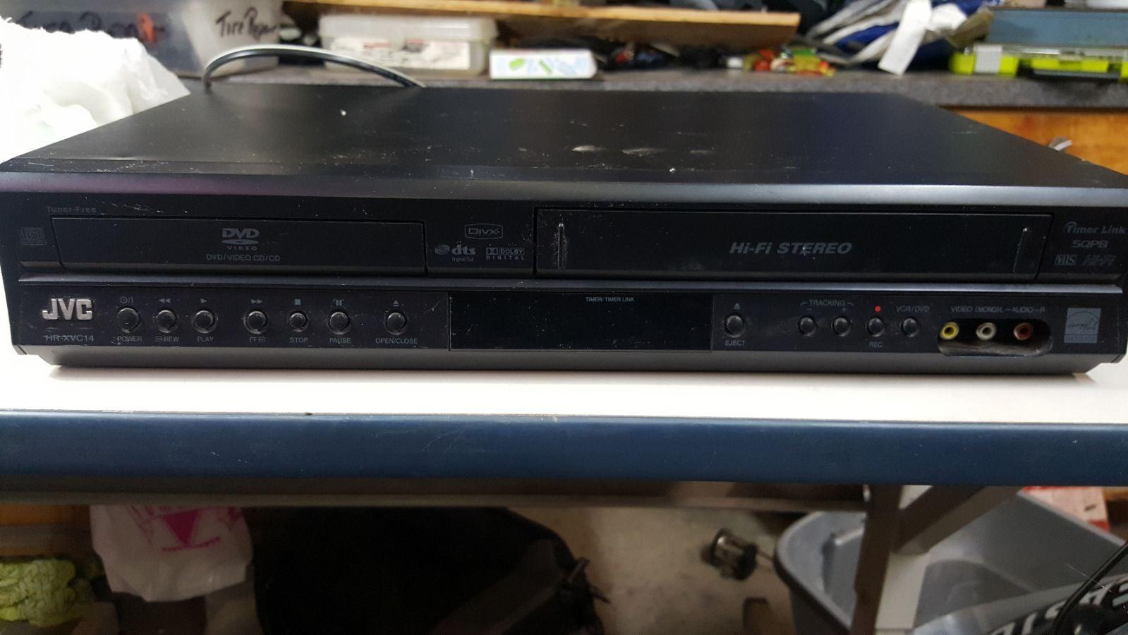 Jvc dvd VHS combo