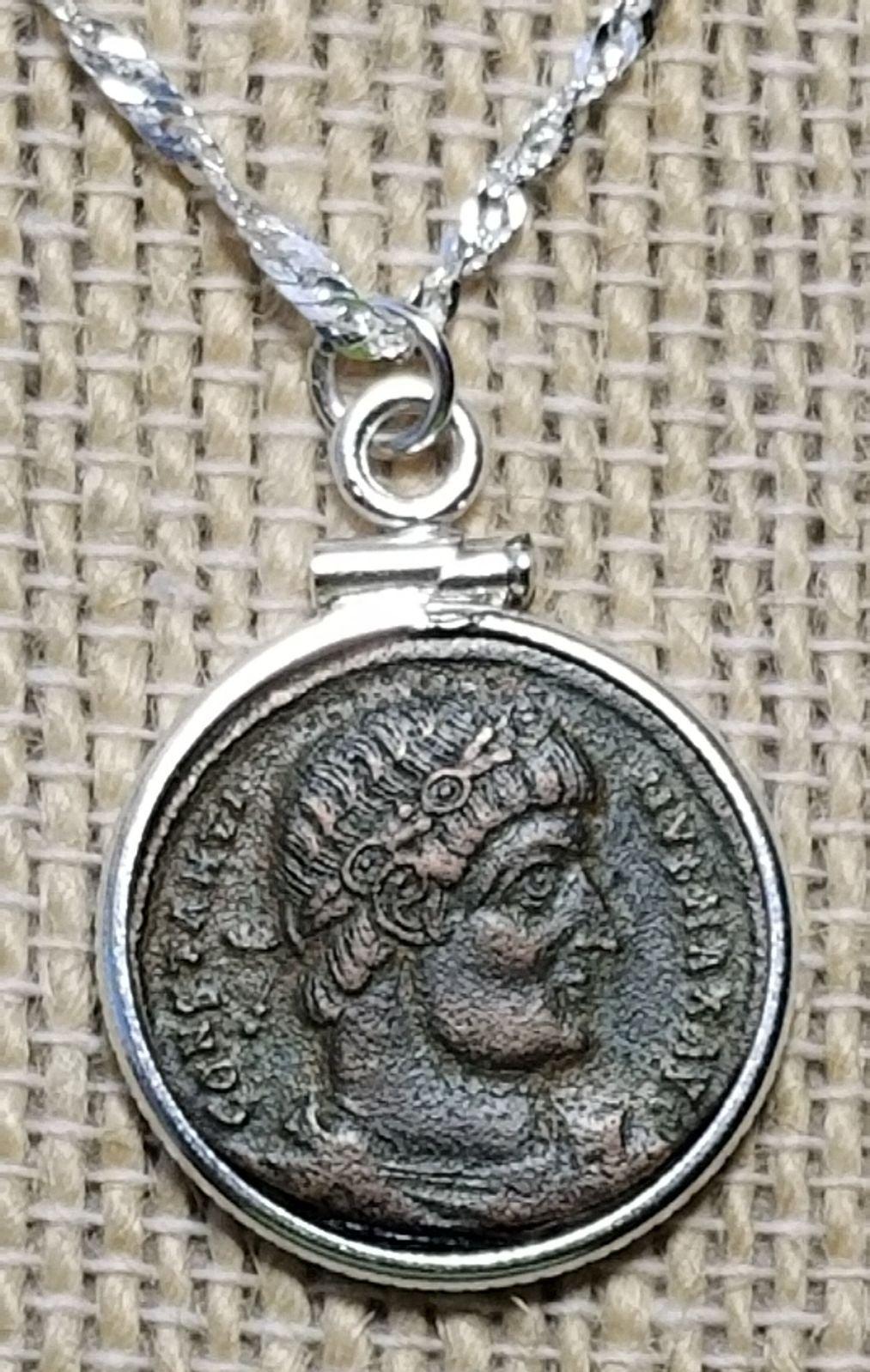 Constantine the Great Emperor Necklace