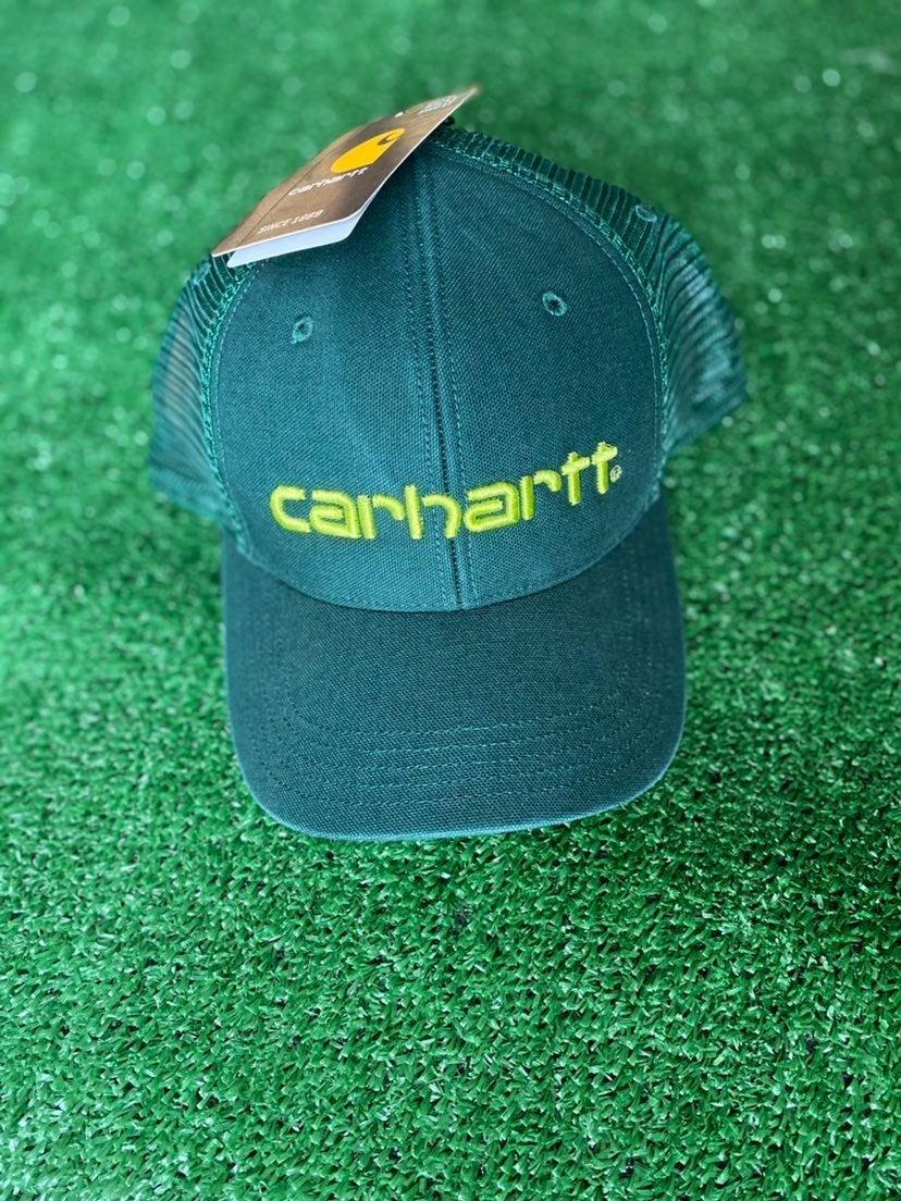 Forest Green Carhartt Trucker Hat