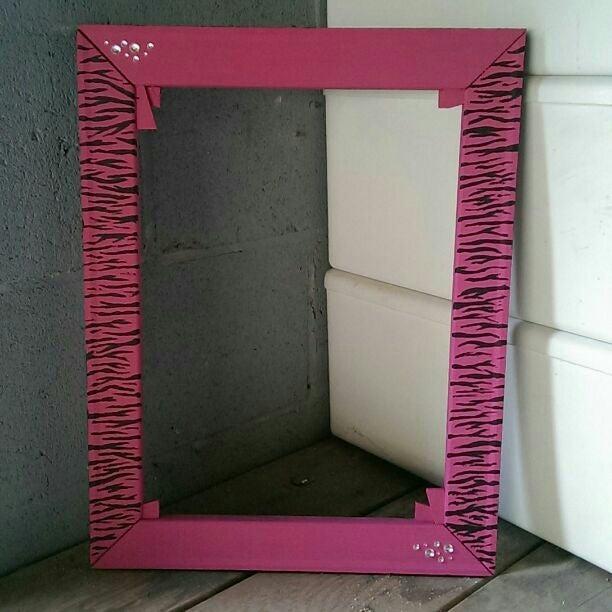 """""""Zebra This"""" Jewelry hanger"""