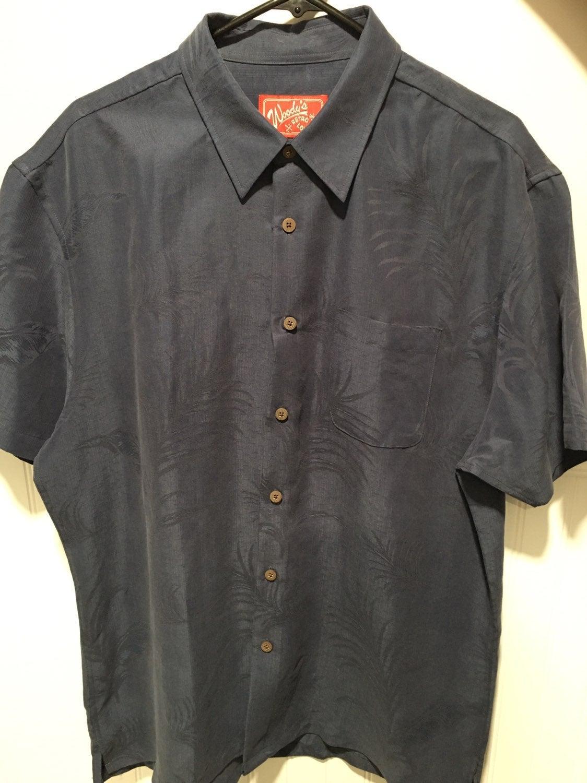 Woodys Retro Lounge XL Black Short Sleev