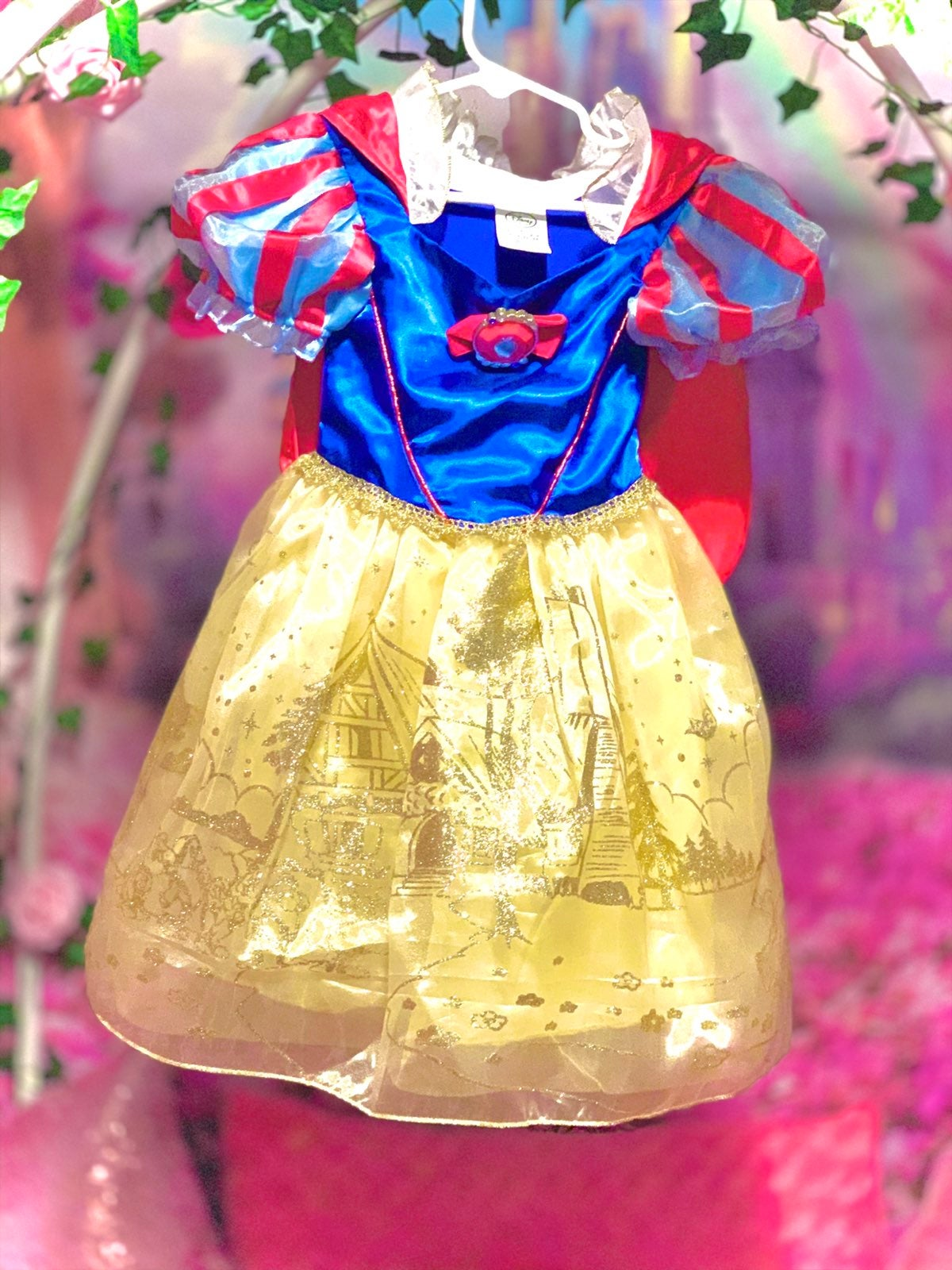 Disney dress up snow white 2t