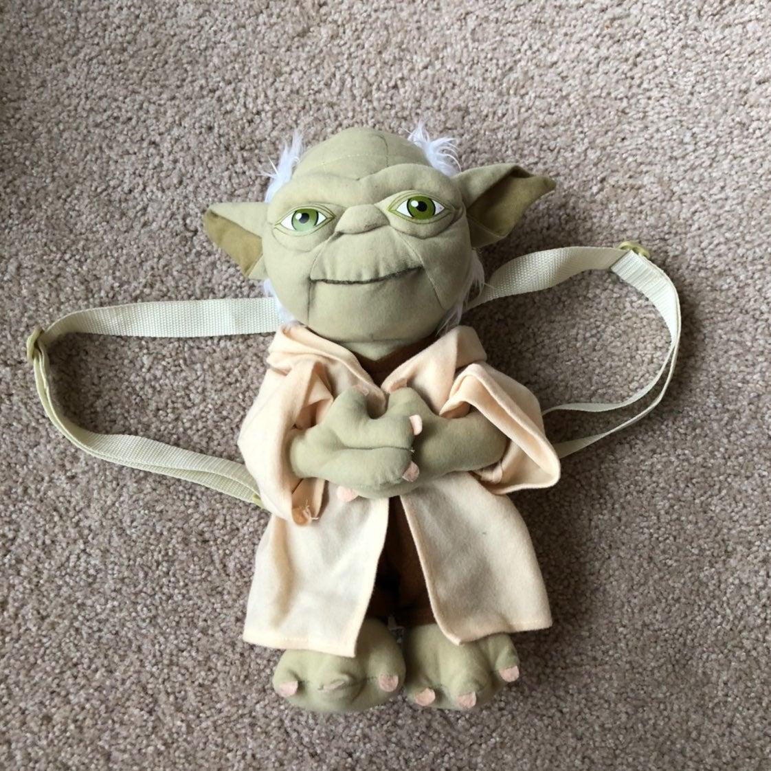 """Star Wars Yoda backpack 13"""""""