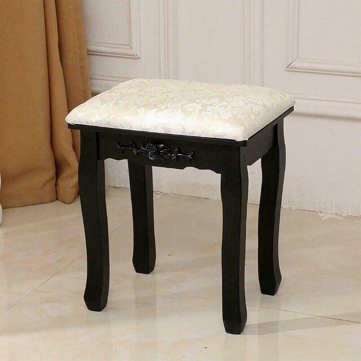 Handmade Vanity Stool Seat Chair Bench