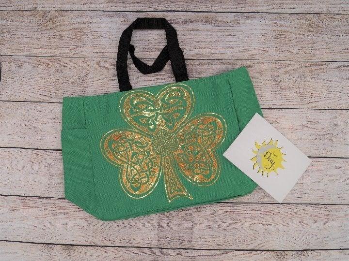 Clover Irish Holographic Tote Bag - NEW
