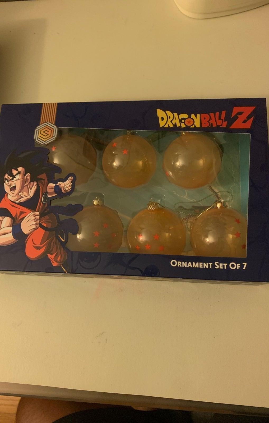 Dragon Ball Z ORNAMENT SET OF 7