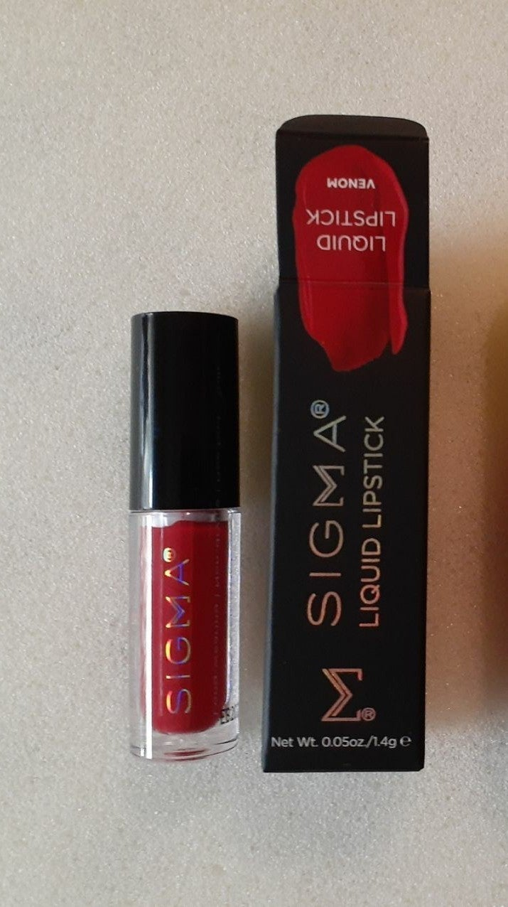 Sigma Liquid Lipstick in Venom
