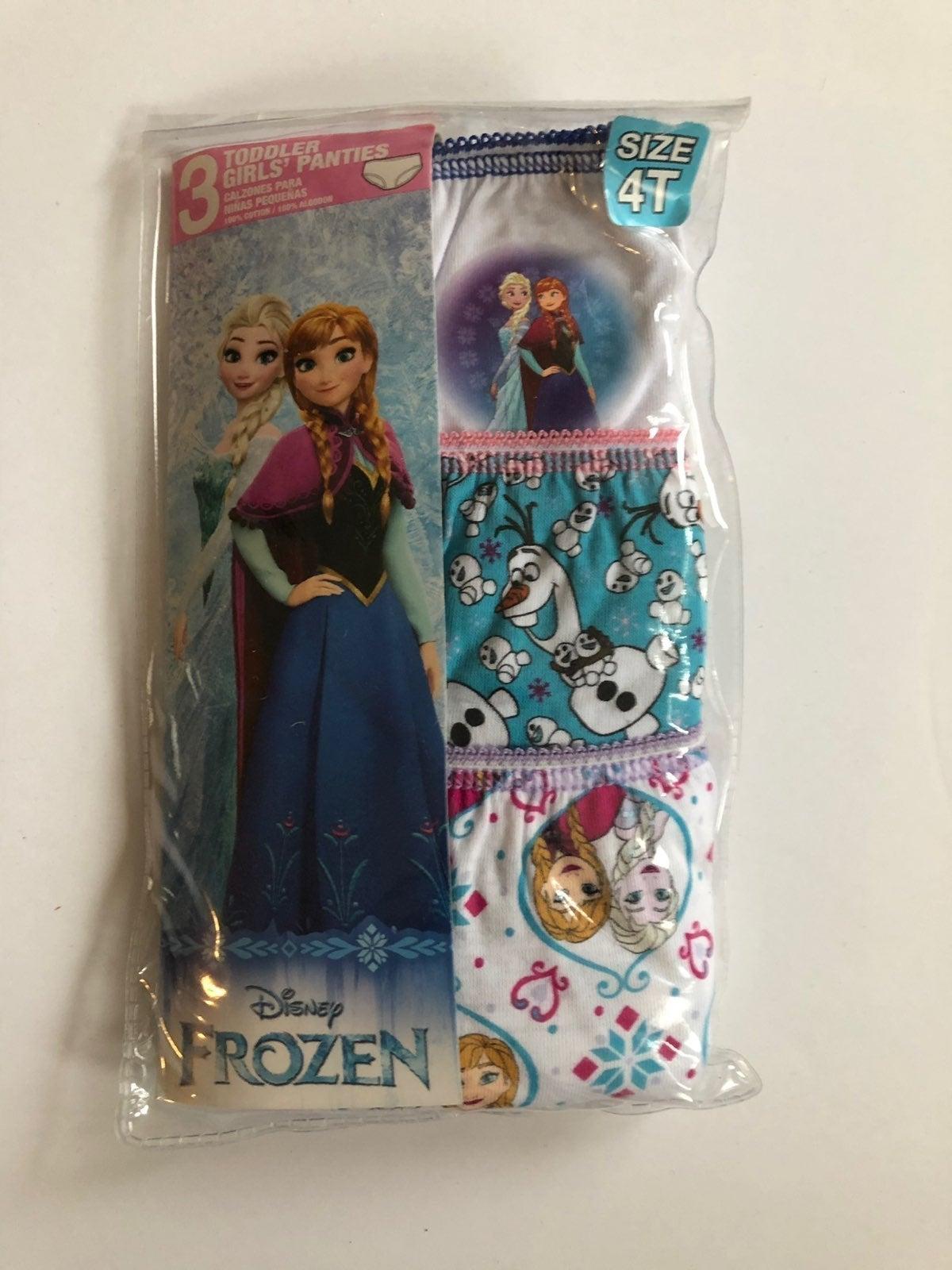 Girl's Panties Frozen