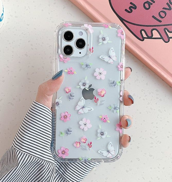 Iphone 12, 12 Pro Case Floral Armor