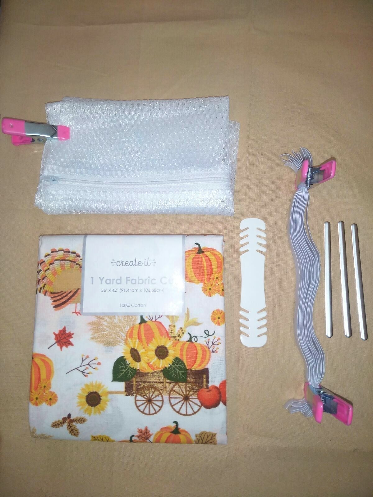 Fall Autumn Country Mask Making Kit NEW