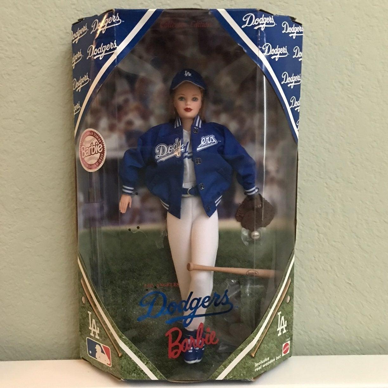 Los Angeles Dodgers Barbie Doll