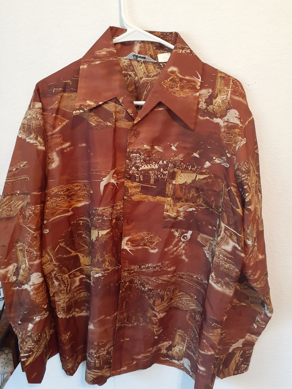 Vintage Lancer Disco Large shirt