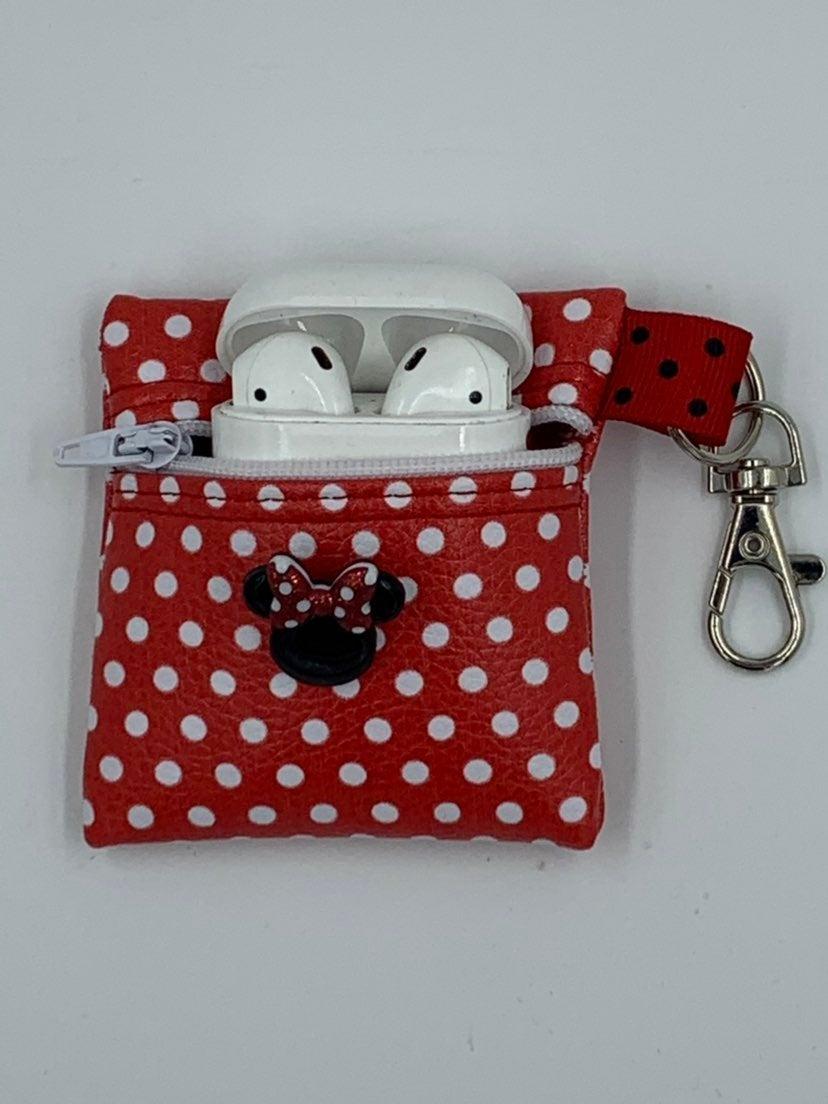 NEW! Minnie Mouse AirPod Case