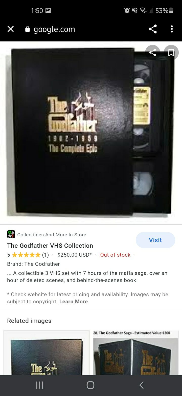 The Godfather the complete epic 1902-195