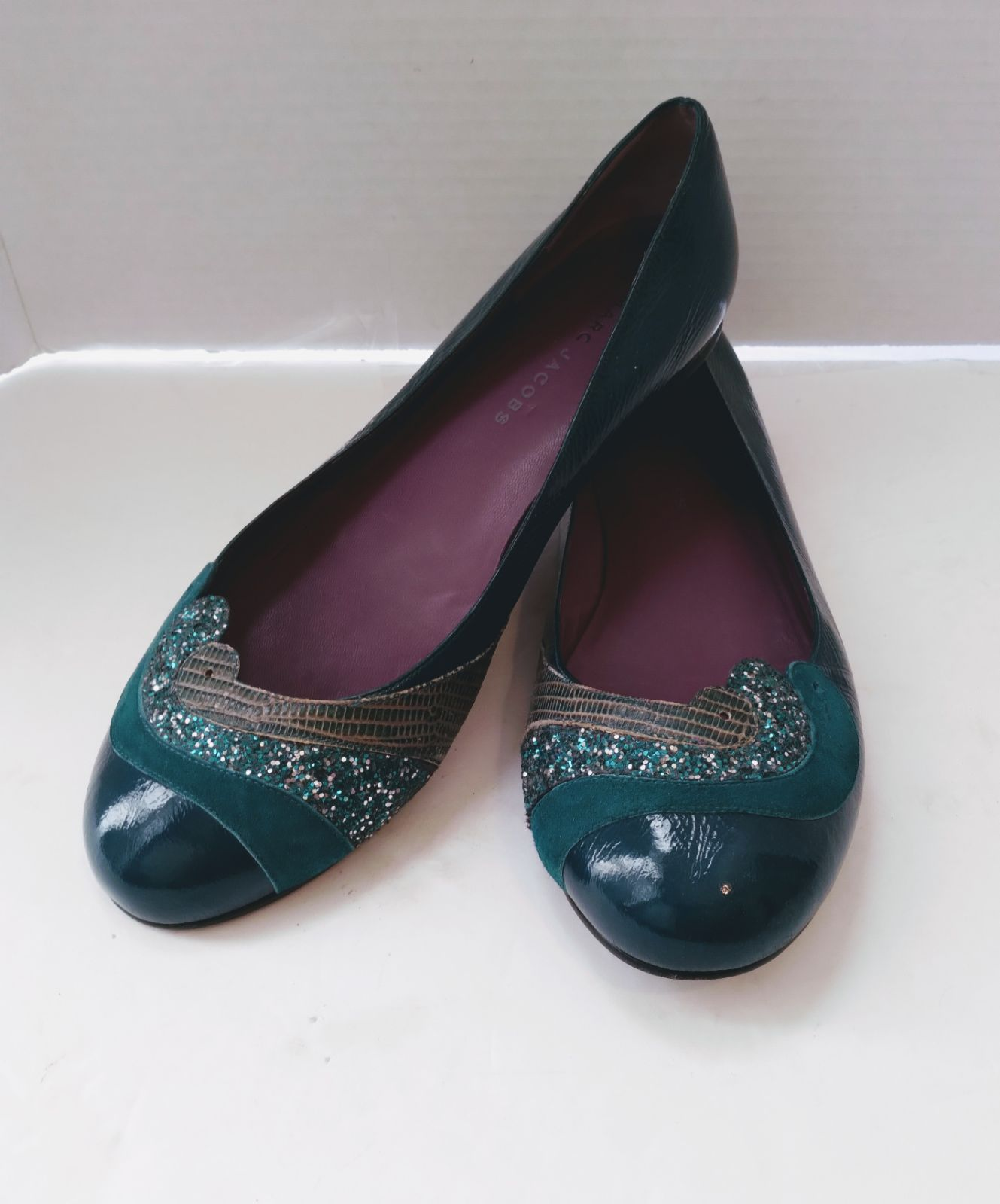 Gorgeous Green Marc Jacobs Flats