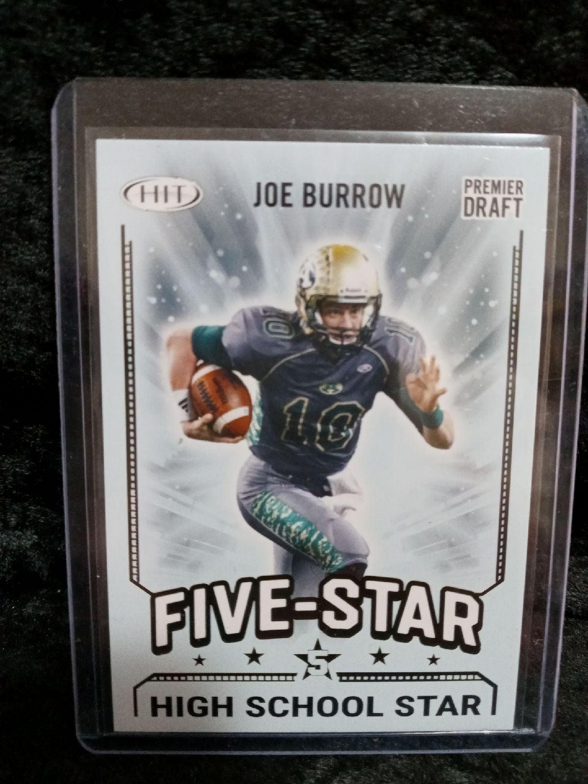 2020 Hit Five Star#90 Joe Burrow RC