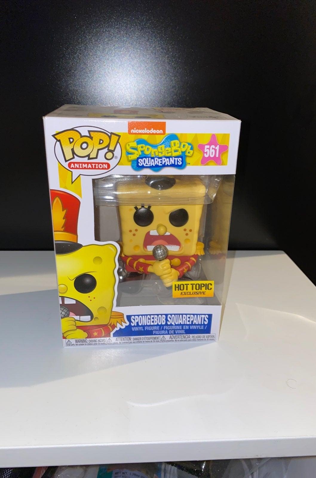 Funko Pop Animation Band Geeks Spongebob