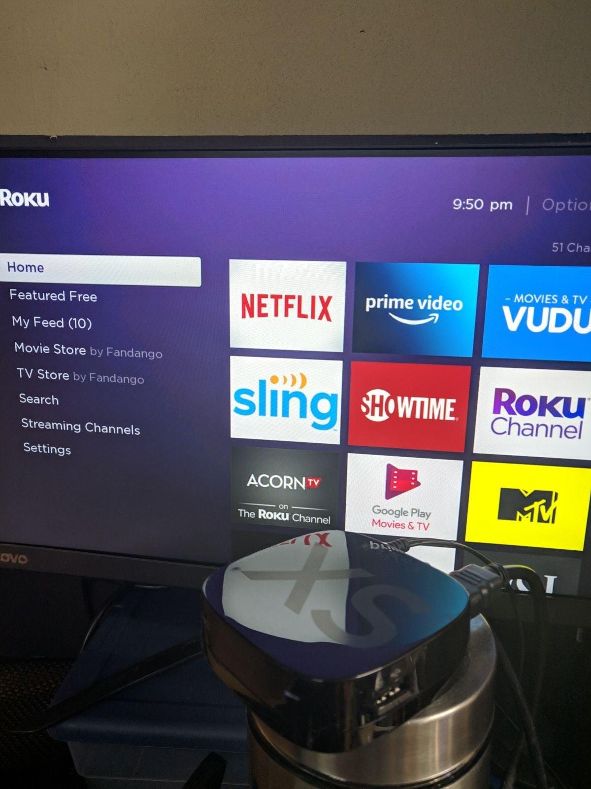 Roku 2 XS 3100x streaming netflix prime