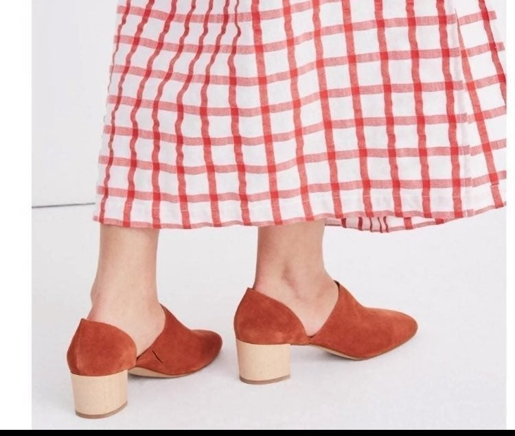 Madewell kirstie lowcut clogs booties 10