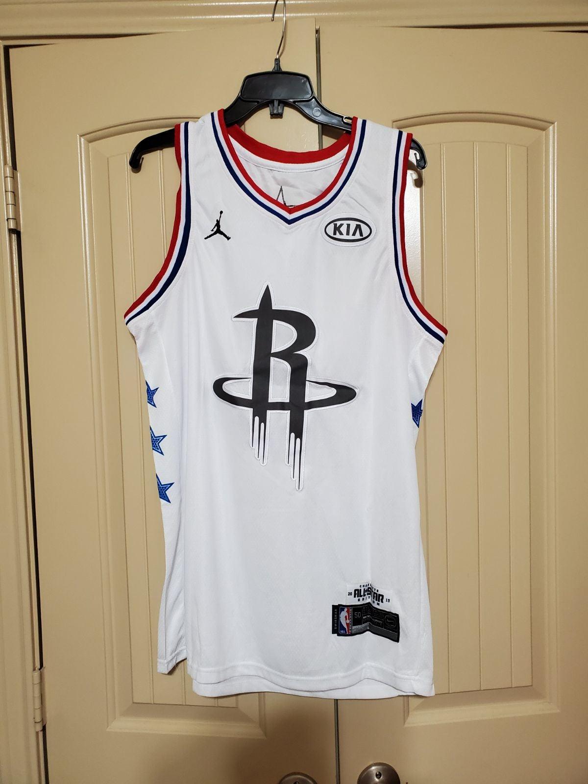 Rockets James Harden All Star Jersey