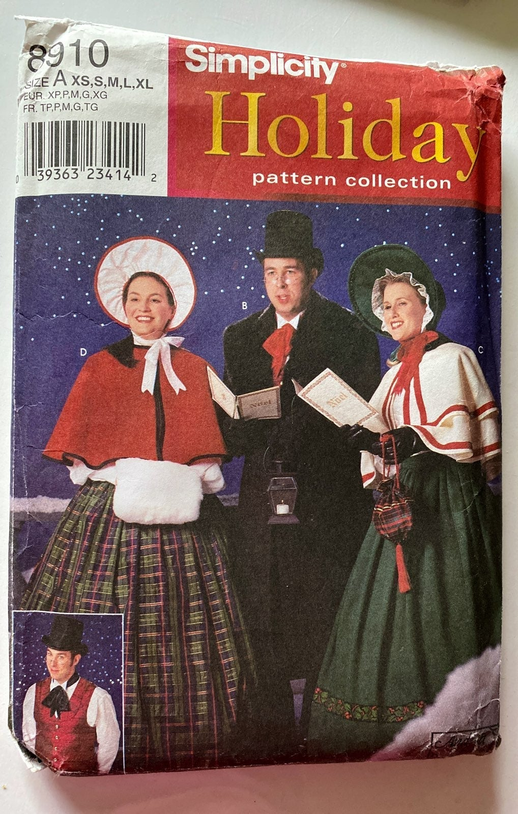 Simplicity Holiday pattern Christmas