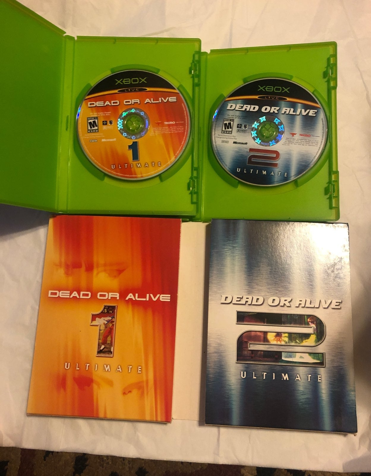 Dead or Alive Ultimate game 1 & 2!