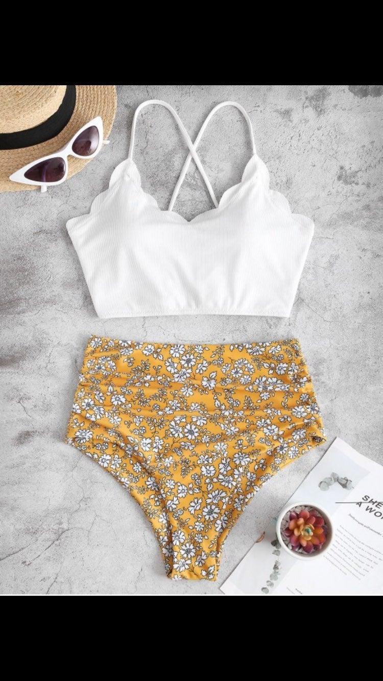 Bikini white xl