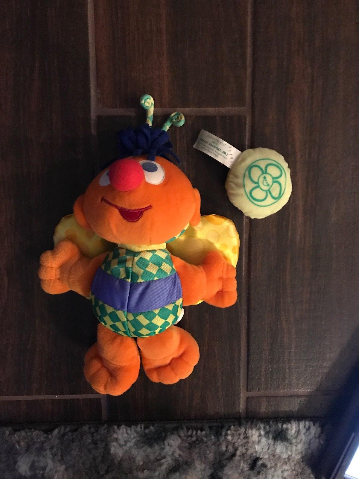 2001 Sesame Street Ernie Plush