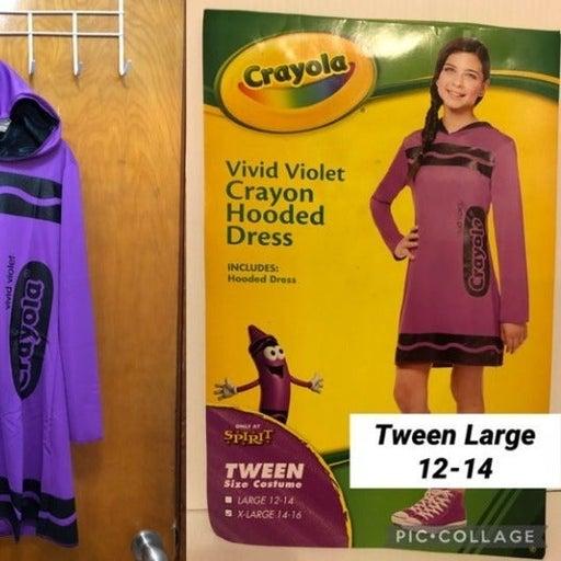NEW TWEEN Girls  Vivid Violet (Purple)