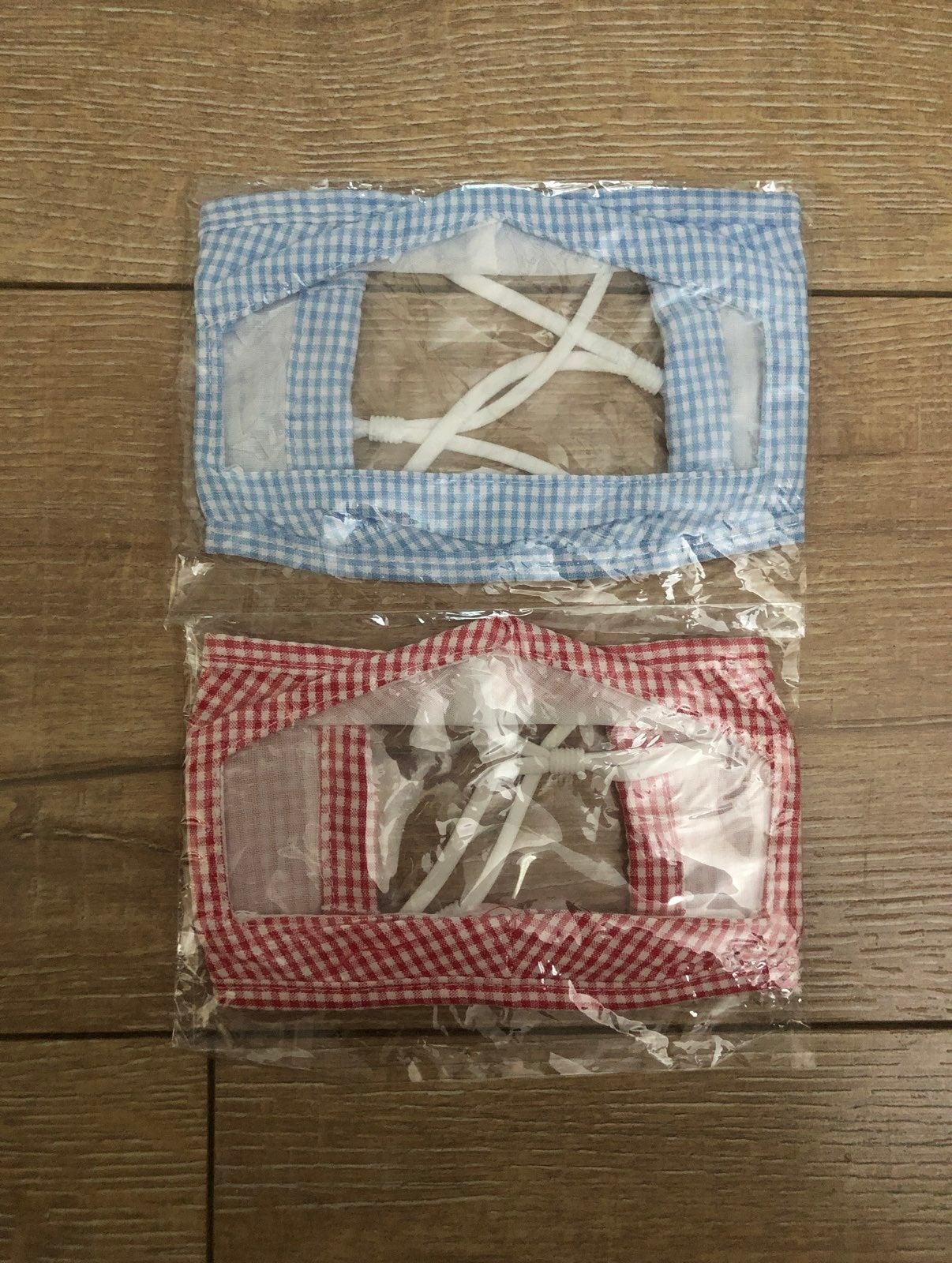 2 Transparent Masks