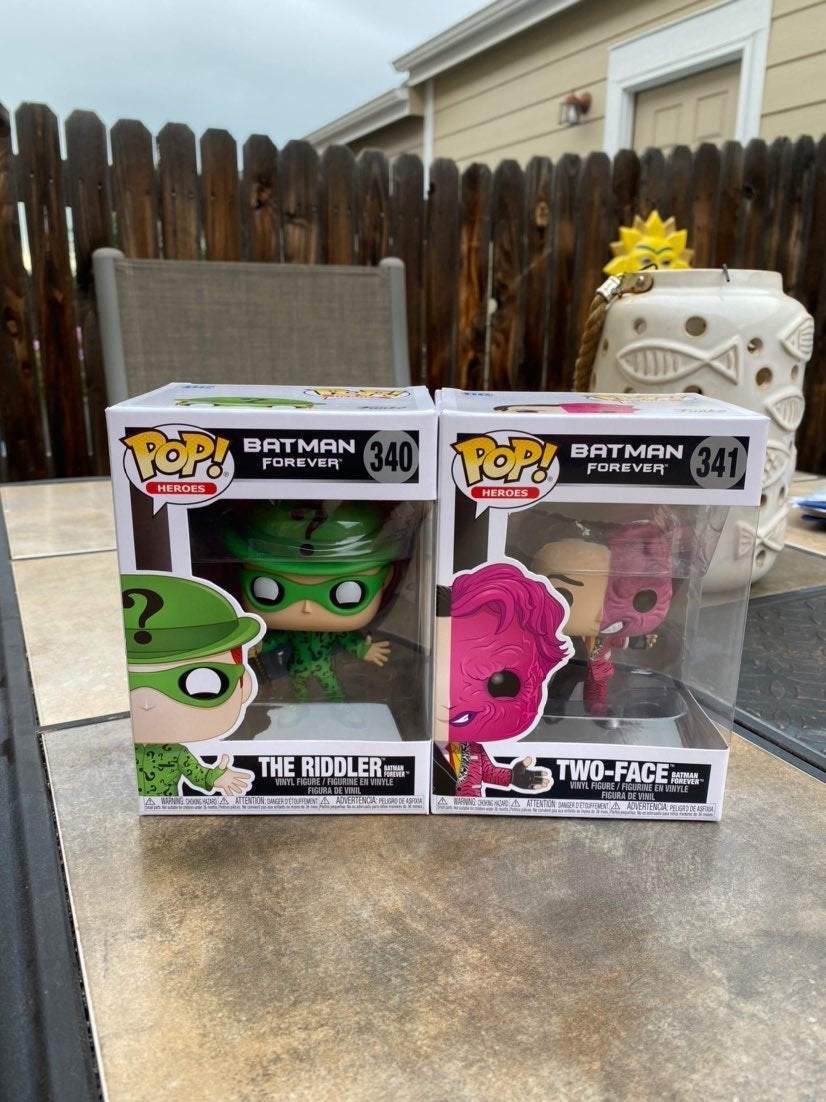 Funko Pop Set two-face & the Riddler