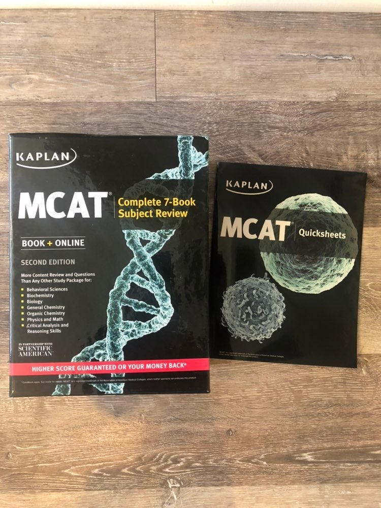 KAPLAN MCAT Complete 7-Book Review