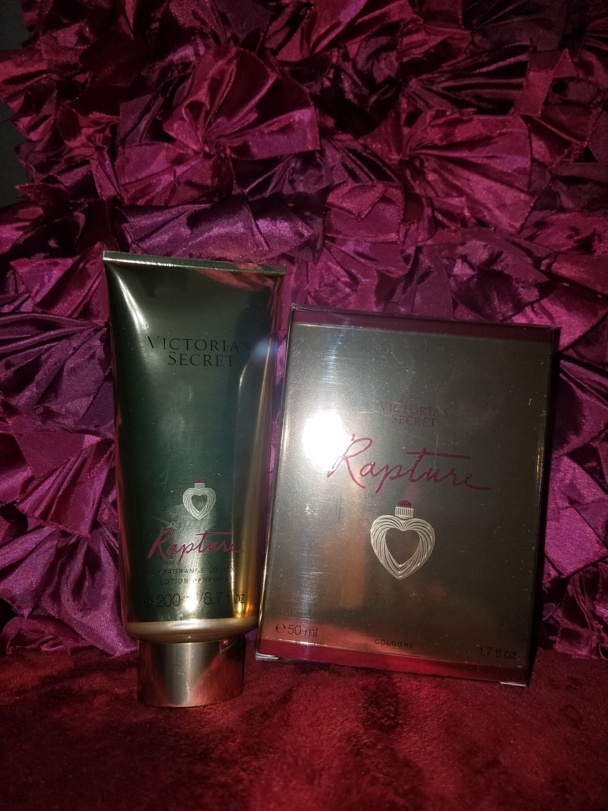 Victoria Secret Rapture Set