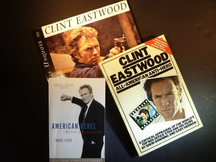 3 CLINT EASTWOOD BOOKS