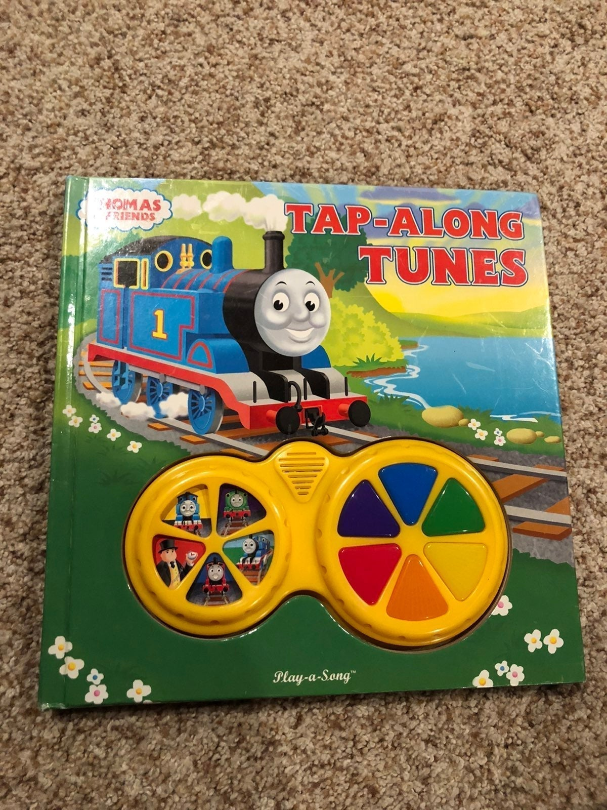 Thomas and friends sing along book