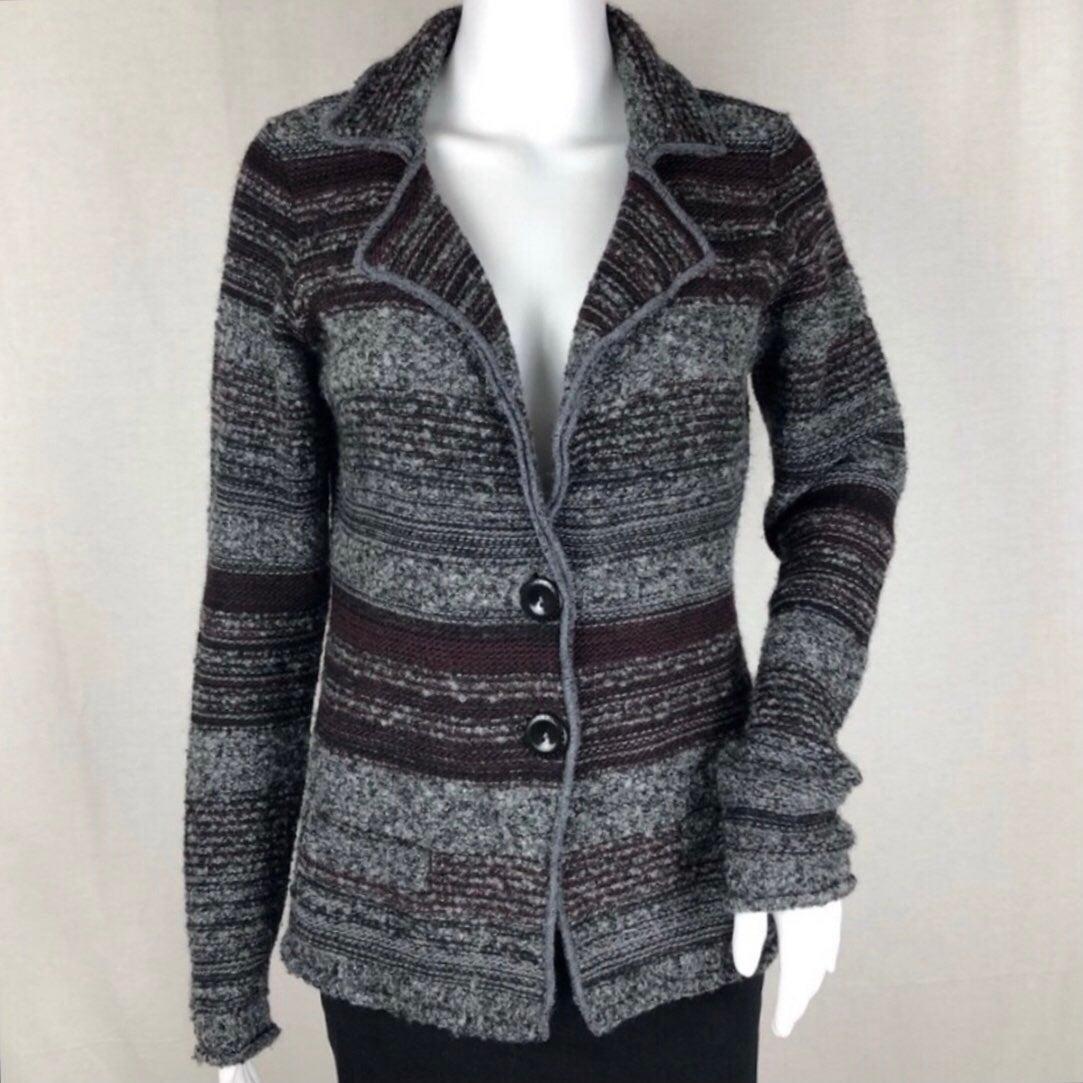 A. Ida Sweater Blazer. Made in Italy. Si