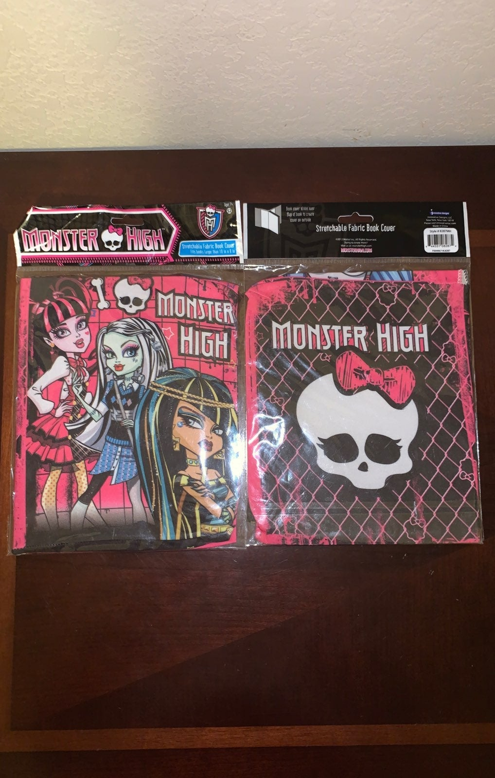 Monster high book cover