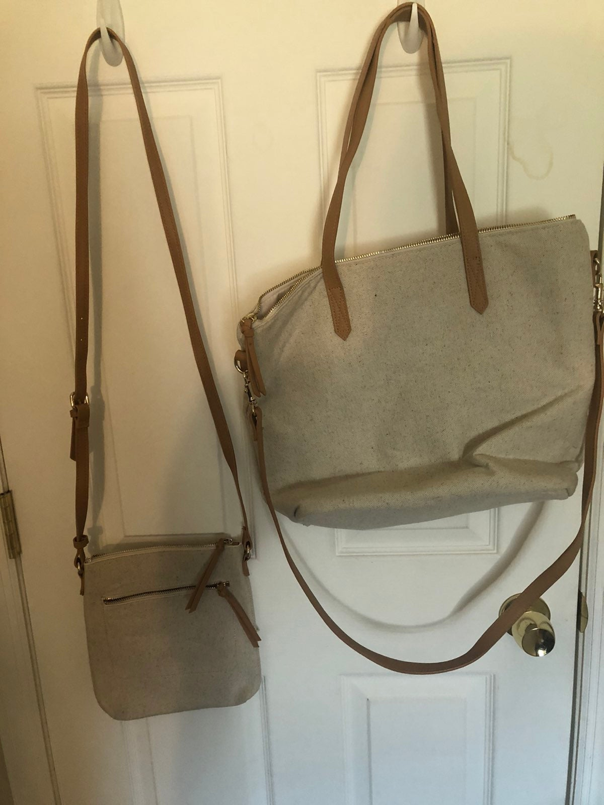 Old Navy Tote and Matching Crossbody