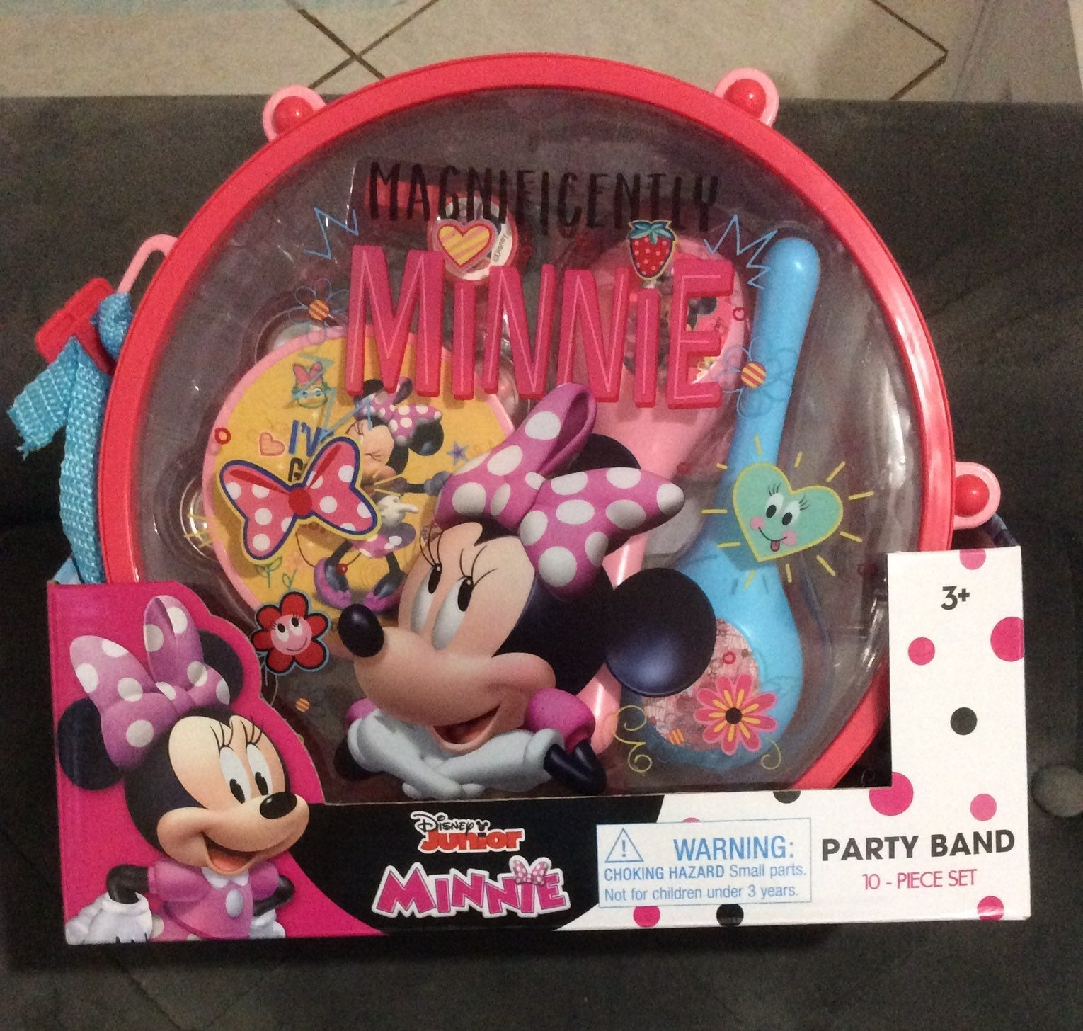 Disney junior minnie mouse party band