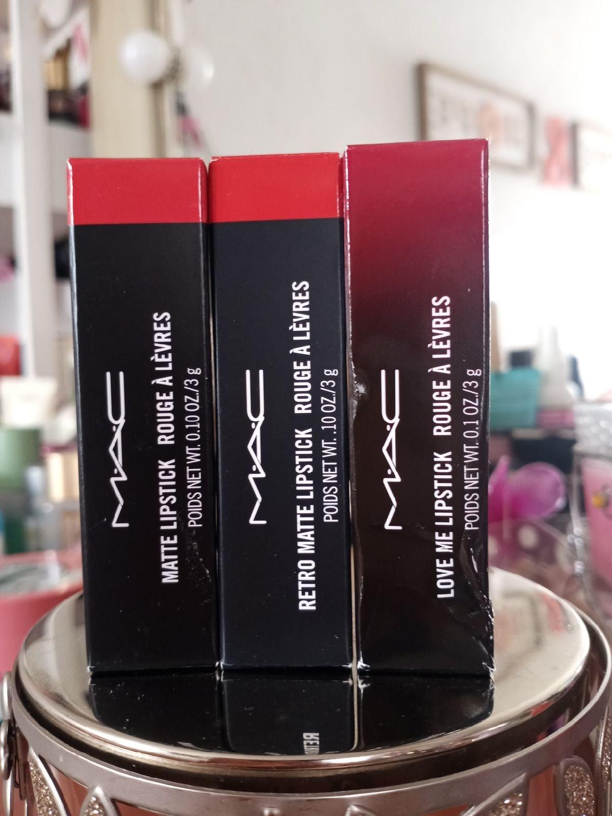 MAC Lipstick Trio