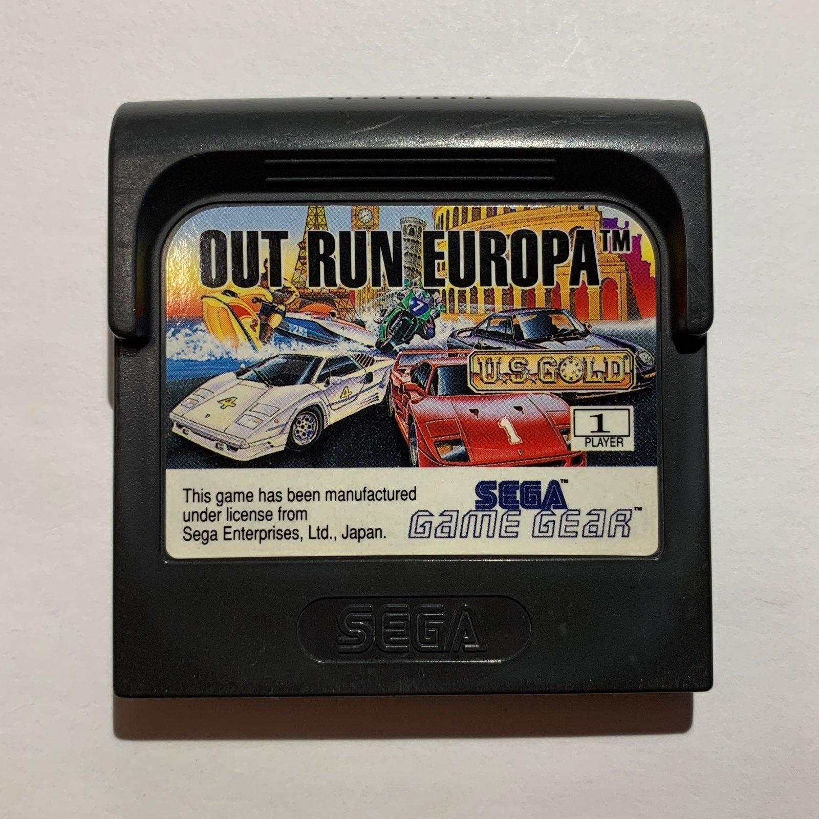 Out Run Europa on Sega Game Gear