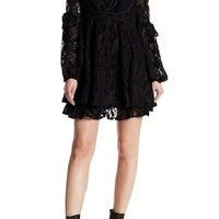 06c343e5c281 Free People ruby lace dress black sz S