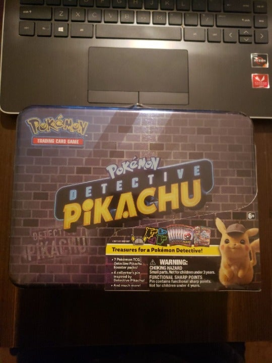 Detective Pikachu Booster Pack Tin